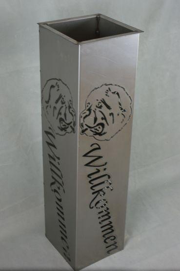 Metallsäule